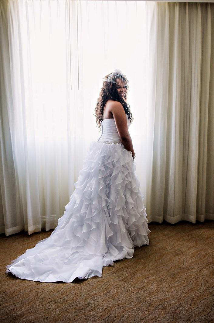 miami bridal portrait