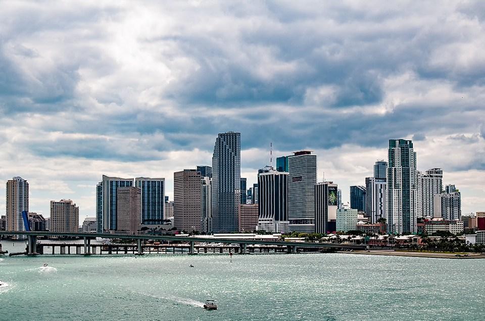 Downtown Miami and Miami Beach