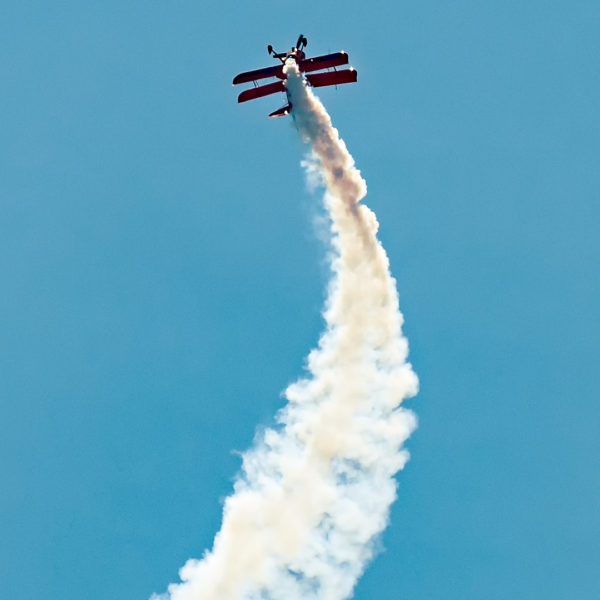 Lucas Oil Biplane