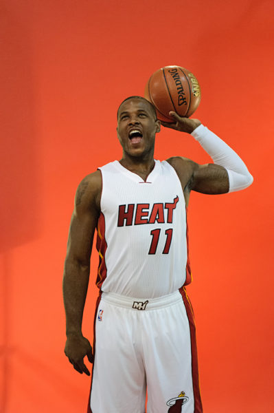 Dion Waiters poses for his portrait