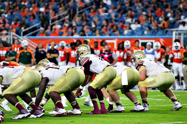 Florida State QB, Deondre Francois, lines up under center
