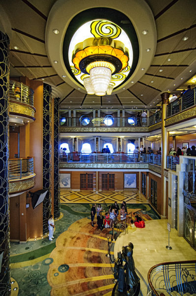 Main lobby view from Deck 4