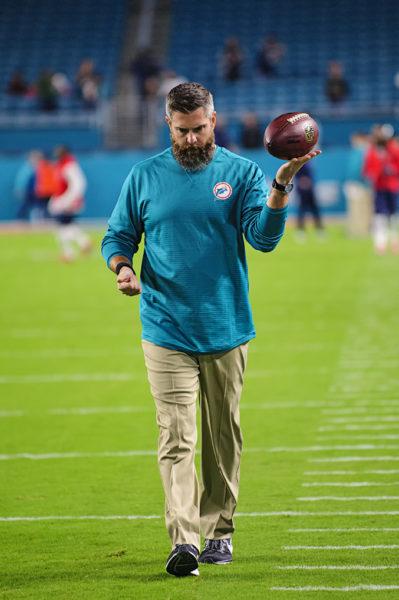 Dolphins Defensive Coordinator Matt Burke