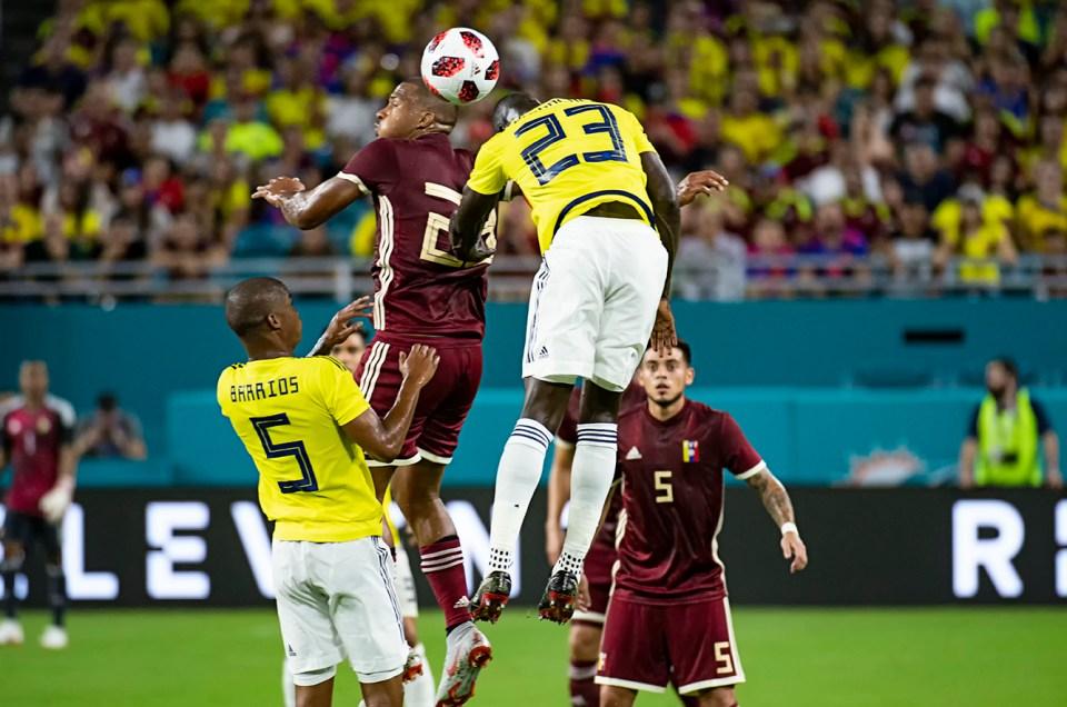 Colombia vs. Venezuela – Friendly Match at Hard Rock Stadium