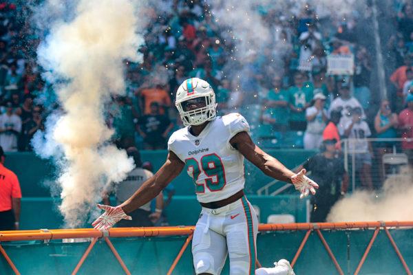 Miami Dolphins defensive back Minkah Fitzpatrick (29)