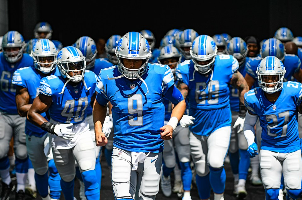 The Detroit Lions Beat the Miami Dolphins