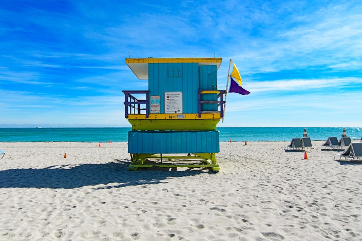 16th Street lifeguard station, Miami Beach