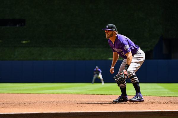 Colorado Rockies first baseman Mark Reynolds #12