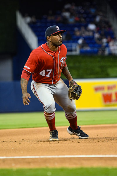 Washington Nationals second baseman Howie Kendrick #47