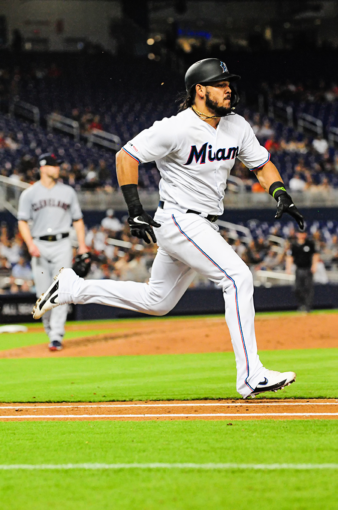 Miami Marlins catcher Jorge Alfaro #38