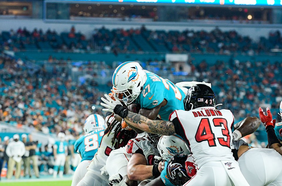 2019 NFL Preseason : Falcons vs. Dolphins