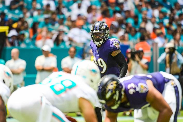 Baltimore Ravens free safety Earl Thomas (29) | Baltimore Ravens vs. Miami Dolphins | September 8, 2019 | Hard Rock Stadium