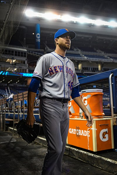 2019 NL Cy Young Winner Jacob deGrom