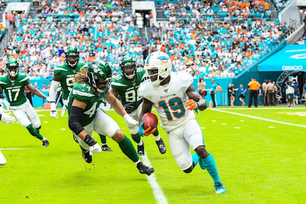 Miami Dolphins wide receiver Jakeem Grant