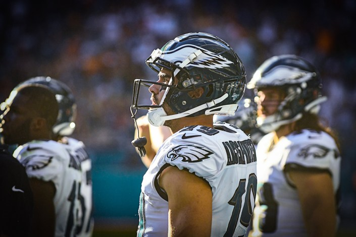 Philadelphia Eagles wide receiver J.J. Arcega-Whiteside