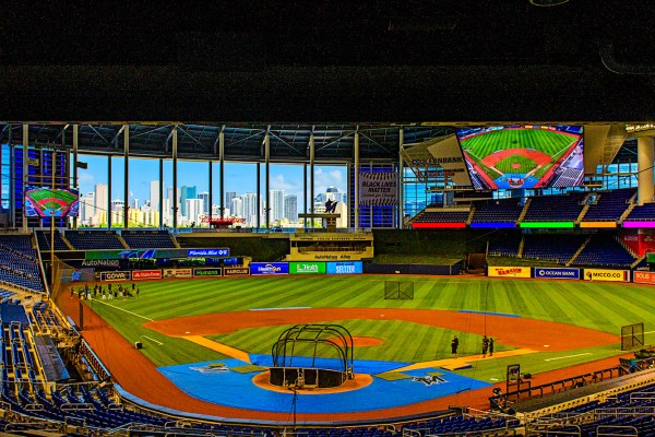 Marlins Park Opening Day
