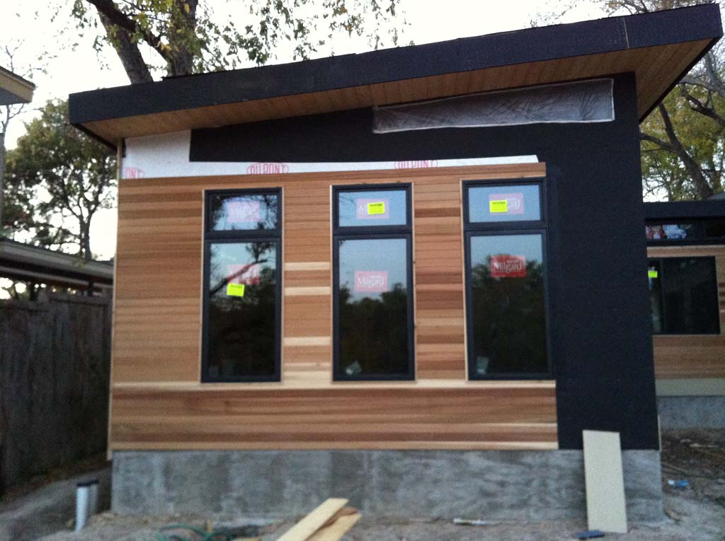 Custom Prefabricated Modern House - Johnston Contracting ... on Modern House Siding  id=64754