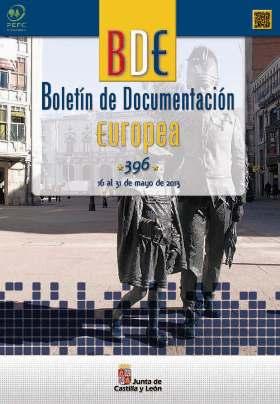 Portada Boletín de Documentación Europea nº 396 (16-31 de mayo de 2013)