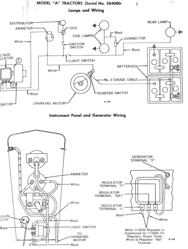 john deere 4020 light switch wiring diagram