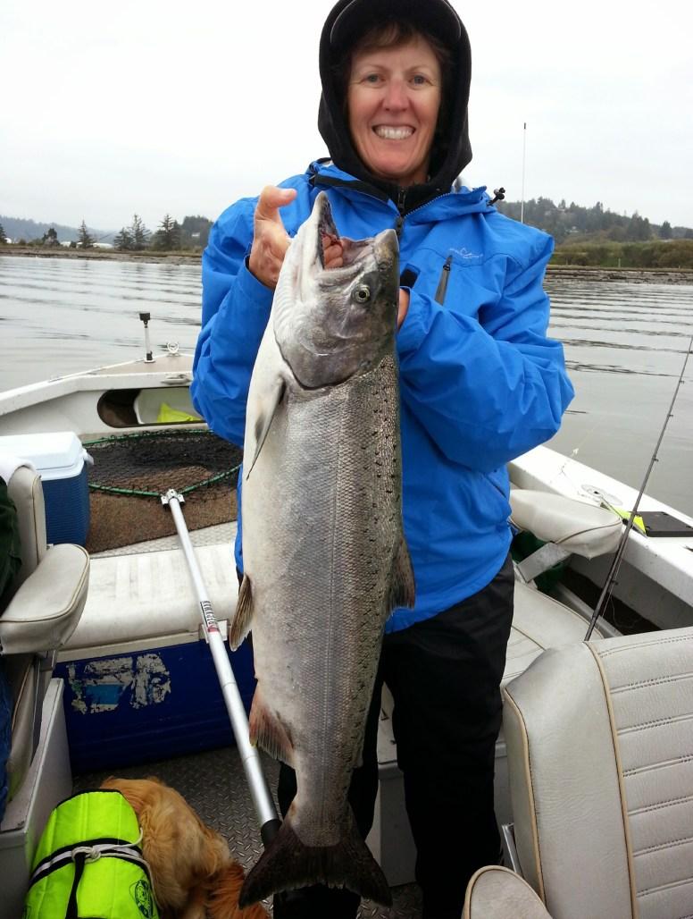 Reedsport Salmon Fishing