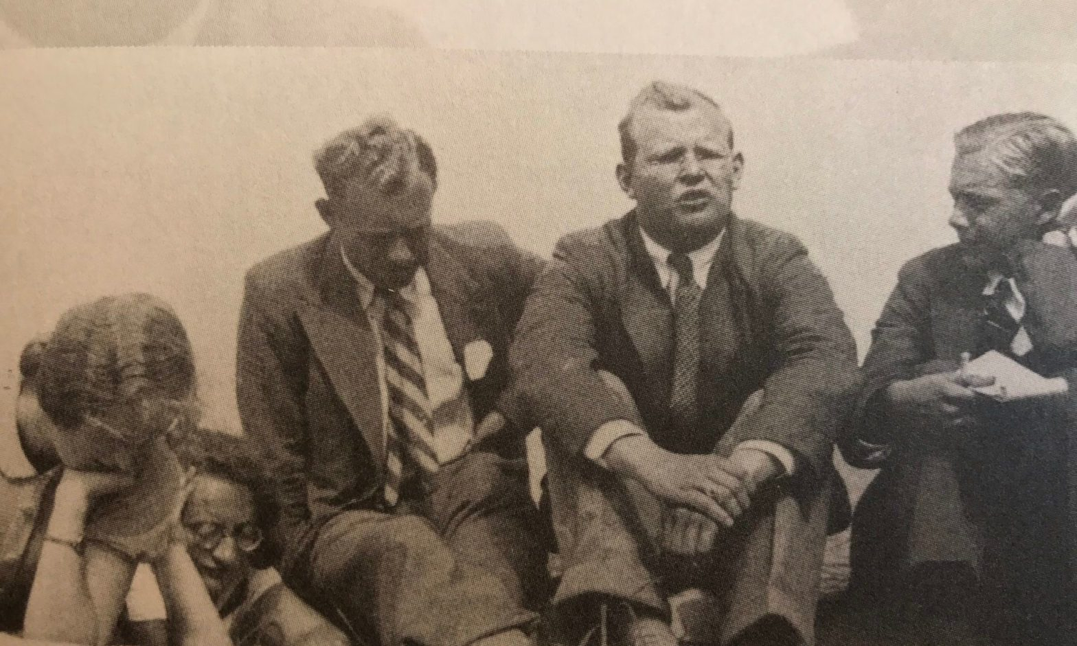 Photograph of Dietrich Bonhoeffer Talking