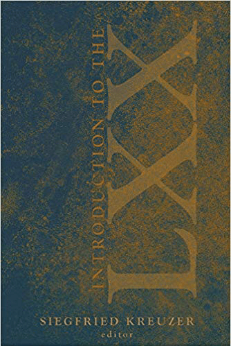 "Kreuzner, ed., ""Introduction to the Septuagint"" cover"