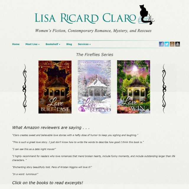 Lisa Ricard Claro, Author