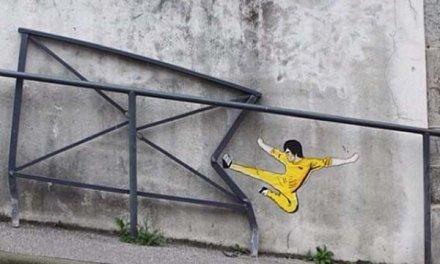 Quand le vandalisme se veut créatif, on adore ça