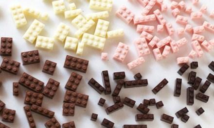 Géniaux ces LEGO en chocolat pour les grands!