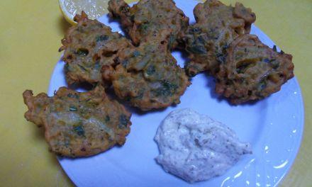 Recette végétarienne: Beignets d'oignon (pour une entrée ou un apéro)