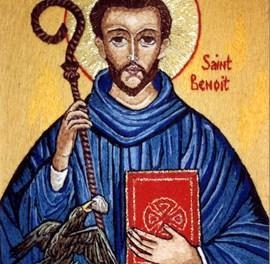 Prière de St Benoît pour aider à surmonter ce qui se passe en France.
