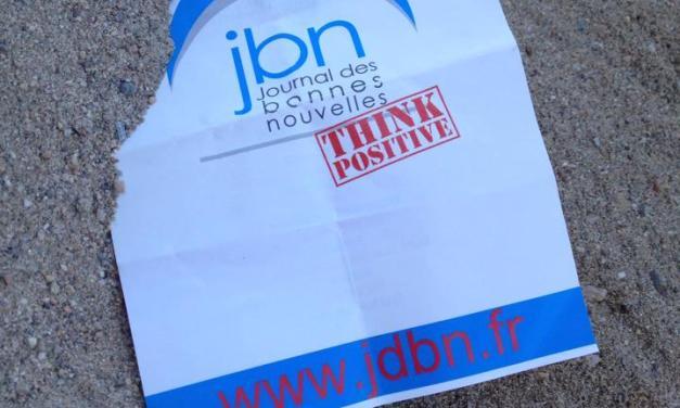 Le JBN vous souhaite un bon week-end.