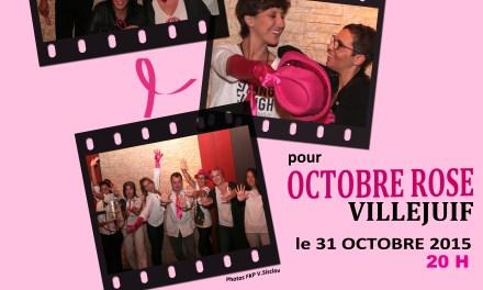 Ils sont chanteurs, comédiens, journalistes et musiciens. Ils unissent leurs voix Samedi 31 Octobre pour OCTOBRE ROSE sur une idée originale de Faby Perier  qui a traversé par deux fois l'épreuve du cancer du sein.