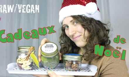 Cadeaux de Noël Vegans et Crus par Marion Eberschweiler