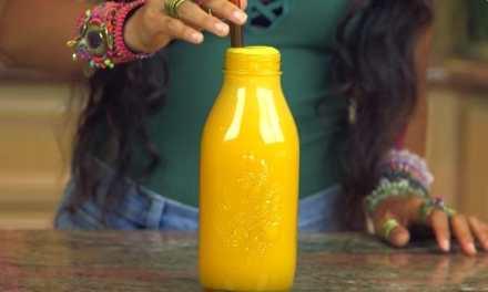 Recette du super jus pour les ballonnements et la digestion par Kristina de Fullyraw