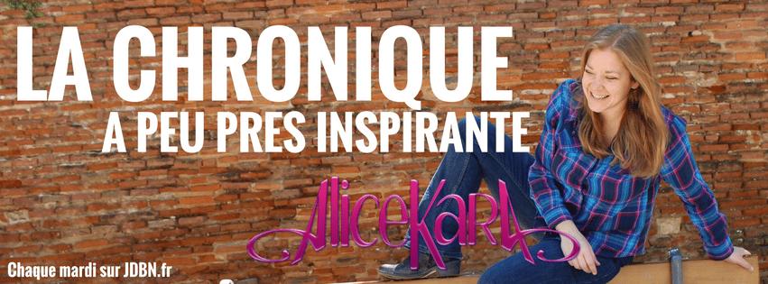LA CHRONIQUE À PEU PRÈS INSPIRANTE D'ALICE KARA: Cesse de vouloir tout contrôler !