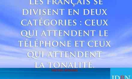Les français…