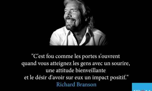Pensée inspirante R Branson