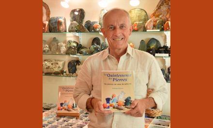 INTERVIEW exclusive de Gérard CAZALS,auteur de : «La quintessence des pierres»
