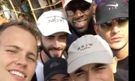 Omar Sy, Jérôme Jarre et la «Love Army» au secours des Rohingyas