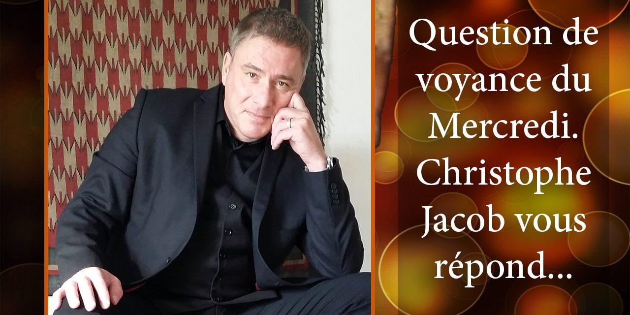 RÉPONSE DE CHRISTOPHE JACOB À LA QUESTION DE VOYANCE GRATUITE DU 3 JANVIER 2018. GAGNANTE: INGRID