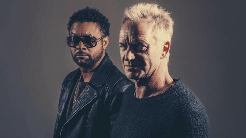 Sting et Shaggy en duo: «Message in a Bottle» dans l'émission Taratata. Magique!