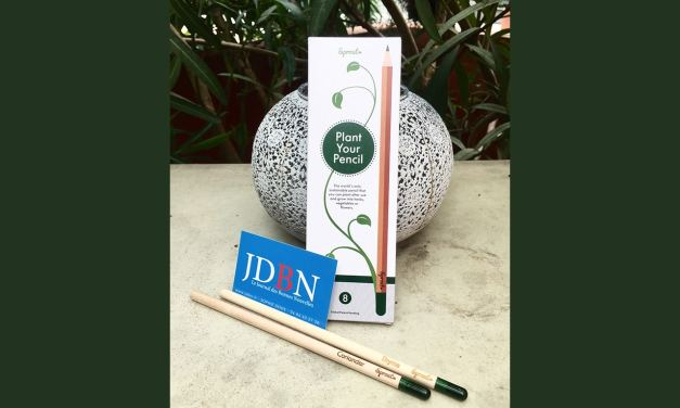 Voilà une idée géniale: Le crayon Sprout que l'on replante en terre!