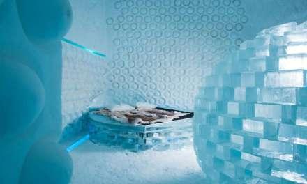Suède: l' ICE HOTEL entièrement fait de glace… magique!