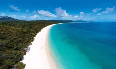 Australie: Whitehaven Beach – Une des plus belles plages du monde…