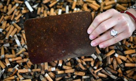 De déchets toxiques à mobilier: les mégots désormais recyclés