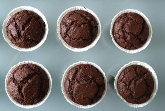 Recette: Petites douceurs peu sucrées, sans gluten, digestes, fortes en cacao!