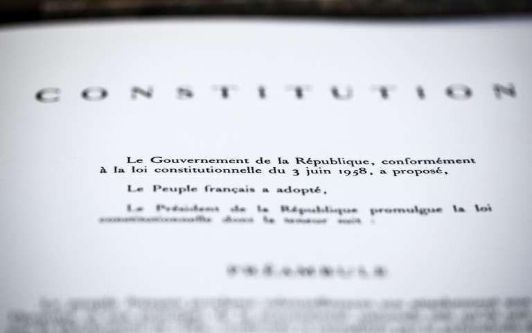 L'environnement inscrit à l'article 1er de la Constitution: feu vert de l'Assemblée