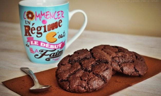 Biscuits craquelés express au chocolat (vegan)