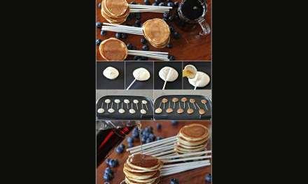 Sucettes de Pancakes vegan – Recette sympa à faire avec vos enfants.
